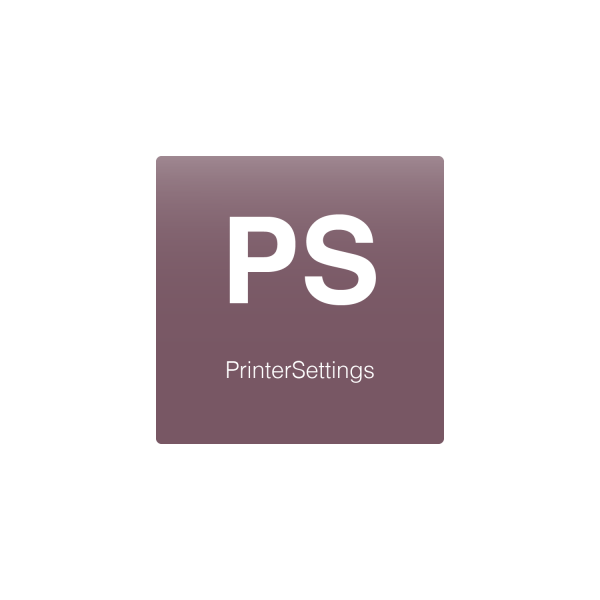PrinterSettings