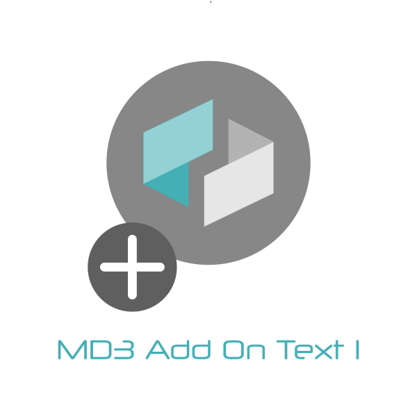 MD3 AddOn Text1
